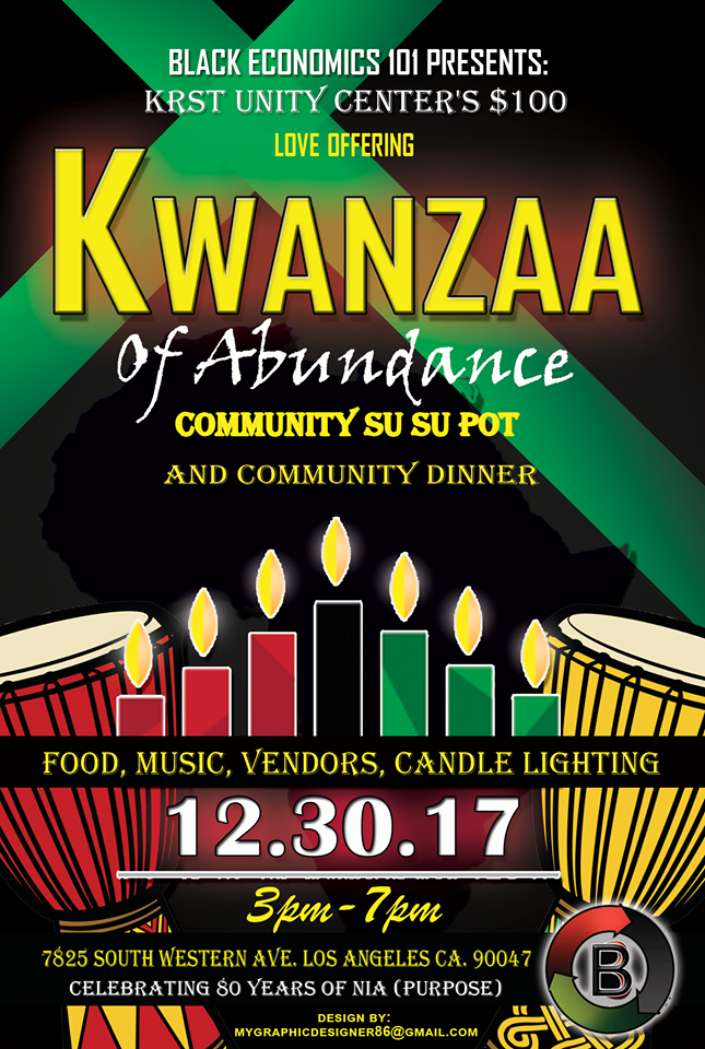 Kwanzaa at KRST Unity