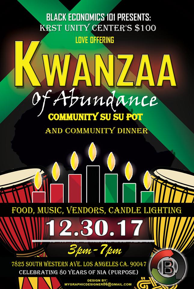 Kwanzaa at KRST Unity