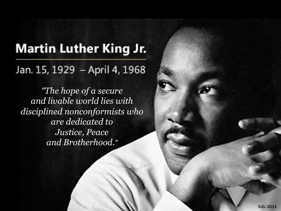 Rev. Dr. Martin King Jr.