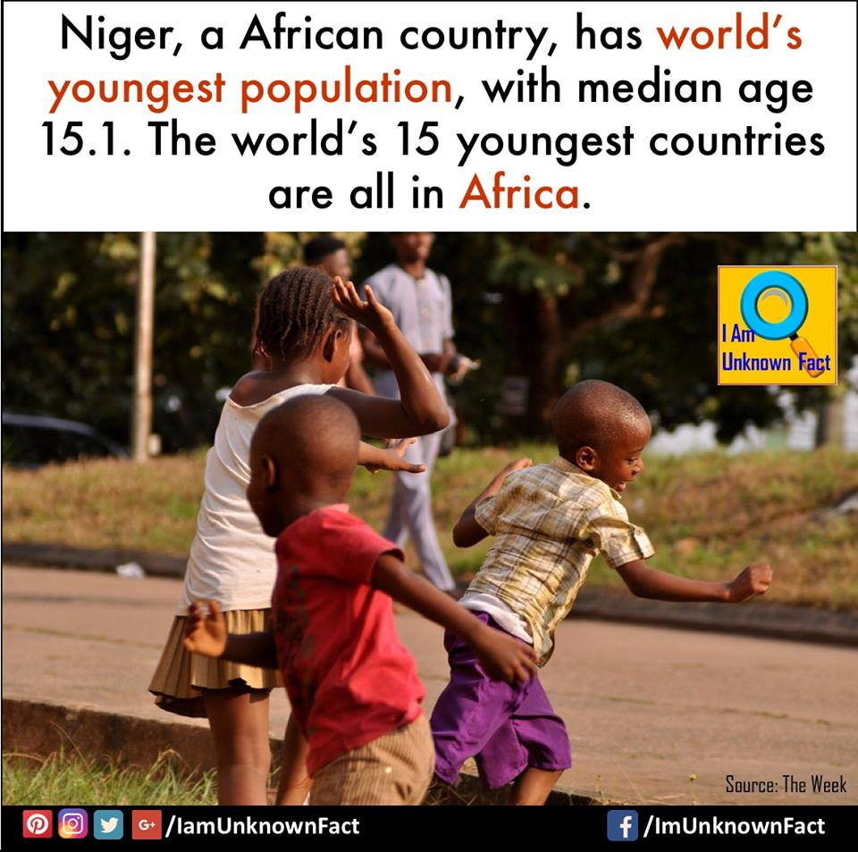 Demographics in Niger