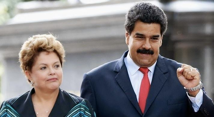 Brazil Venezuela Leaders