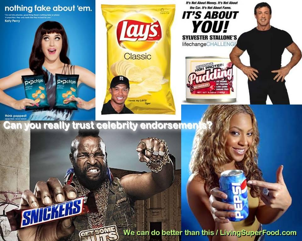 celebrities marketing