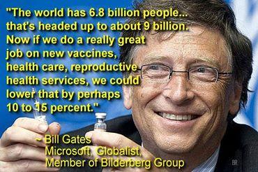 Bill Gates Population Control