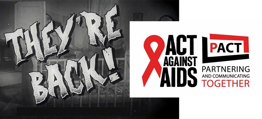 AIDS Propaganda is back