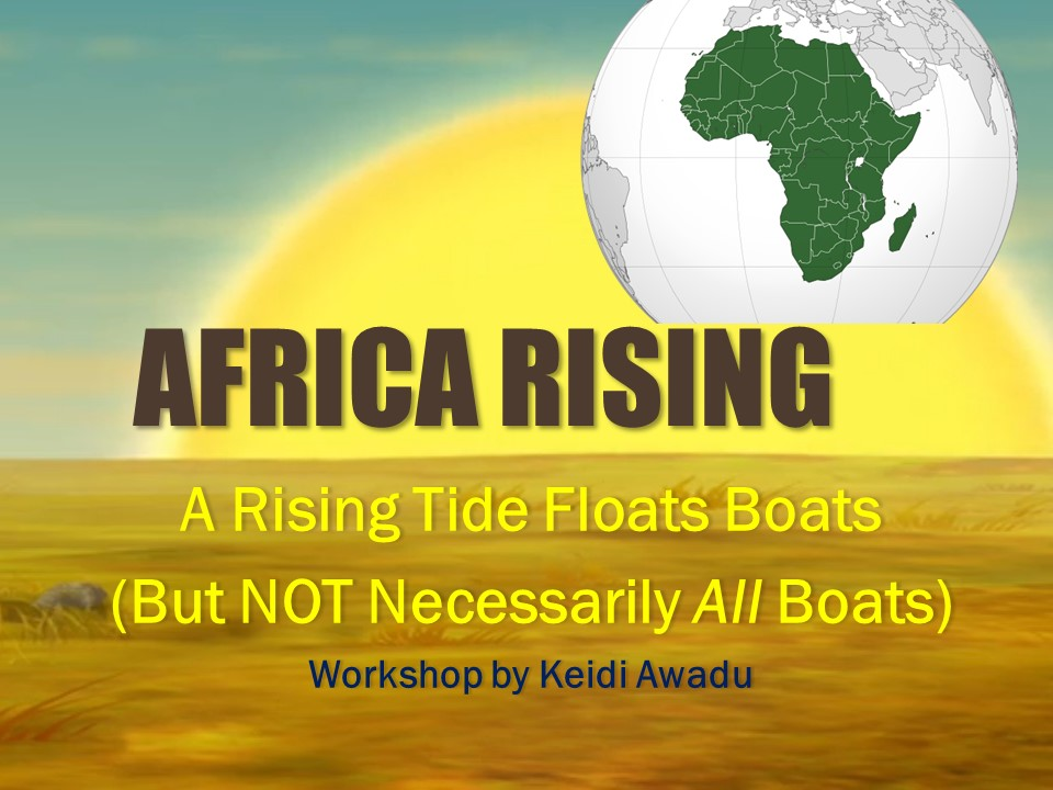 Africa Rising Ppt
