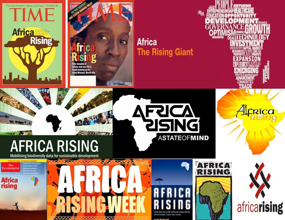 Africa Rising Collage