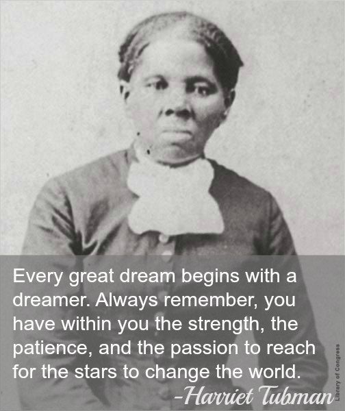 Harriet Tubman Dreaming for the Future