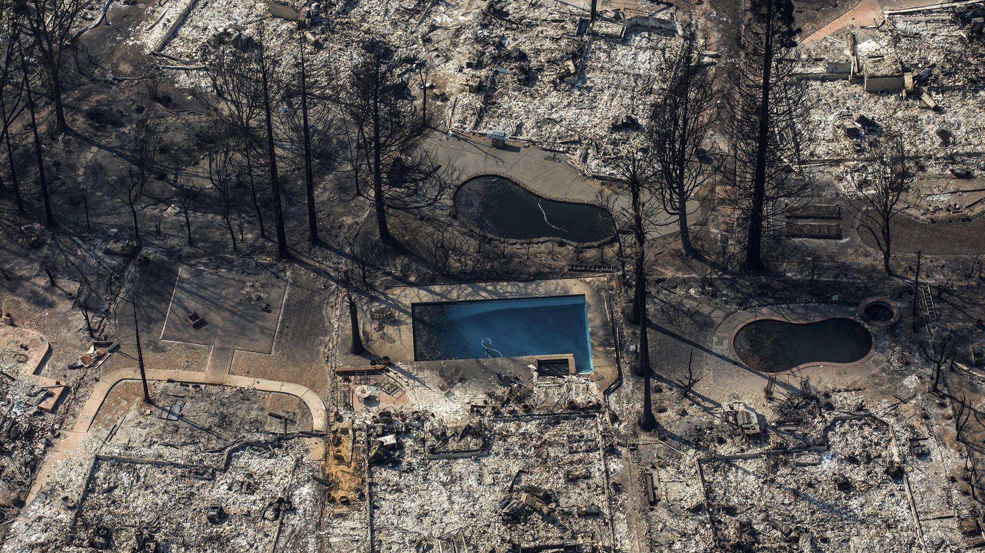 The California Fires 2017