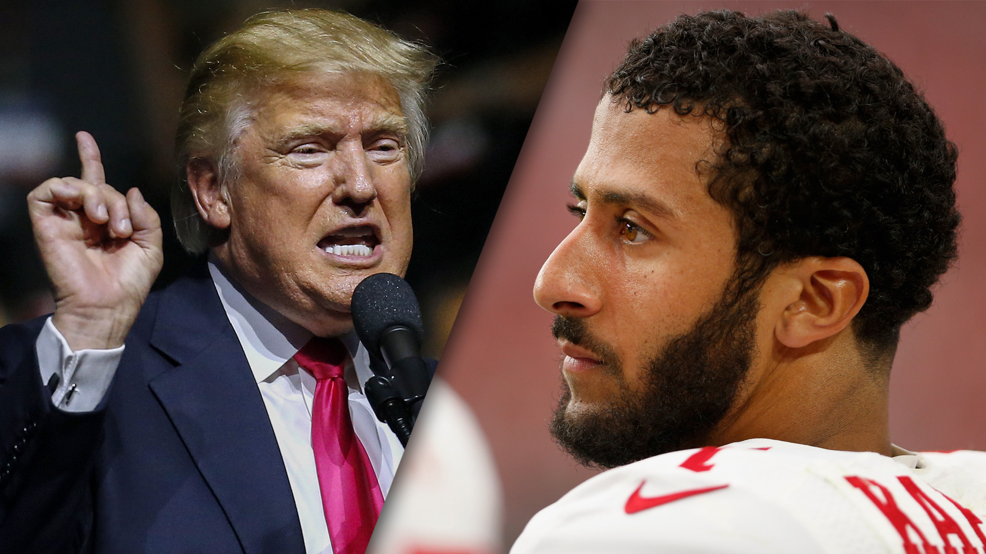 Trump and Kapernick