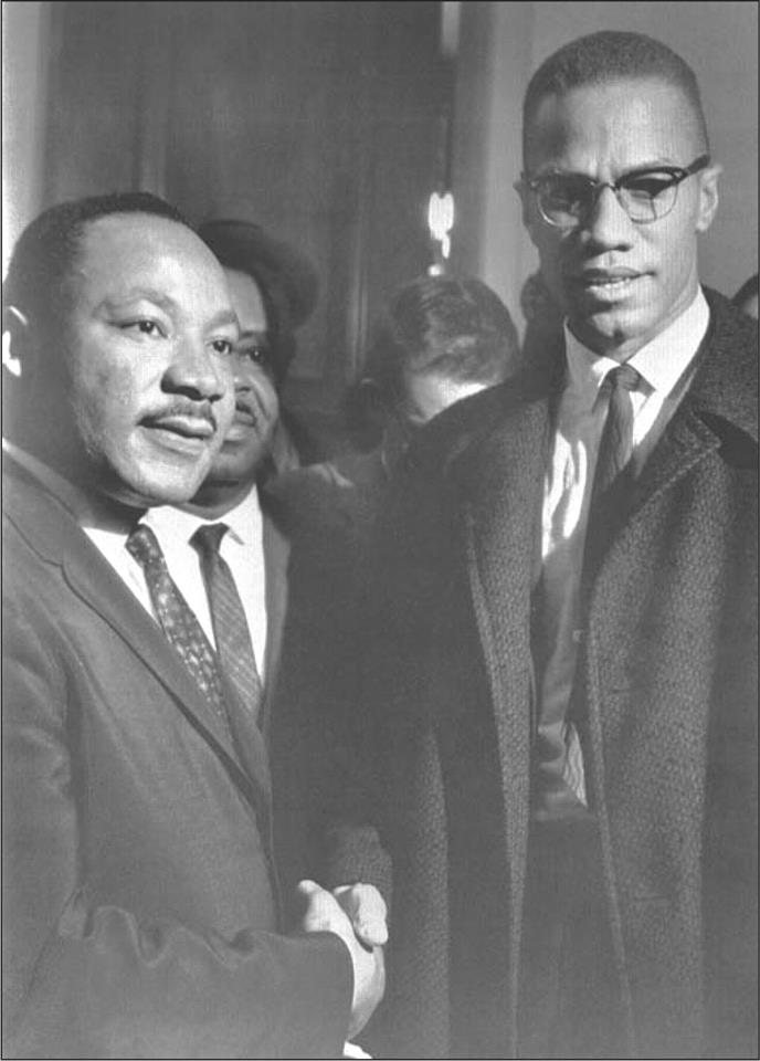 Martin L. King and Malcolm X
