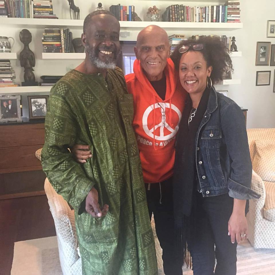 Patrick and Tiffany with Mr. Belafonte
